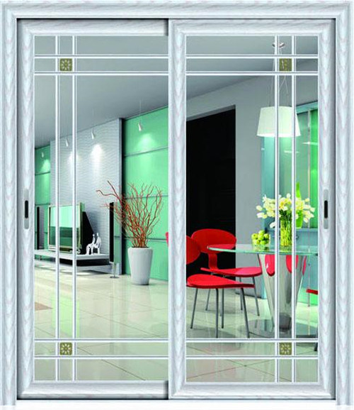 China Aluminium Sliding Patio Door Withdouble Glassflyscreen