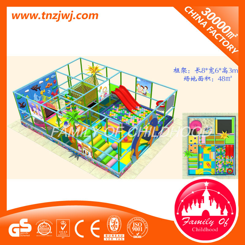Latest Indoor Playground Amusement Park Equipment Naughty Castle pictures & photos
