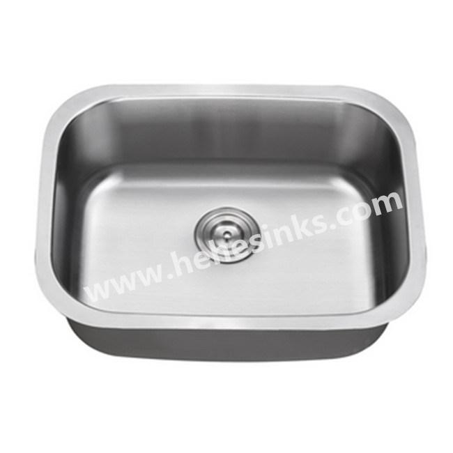 Satin Finish Undermount Stainless Steel Kitchen Sink Bar 6348