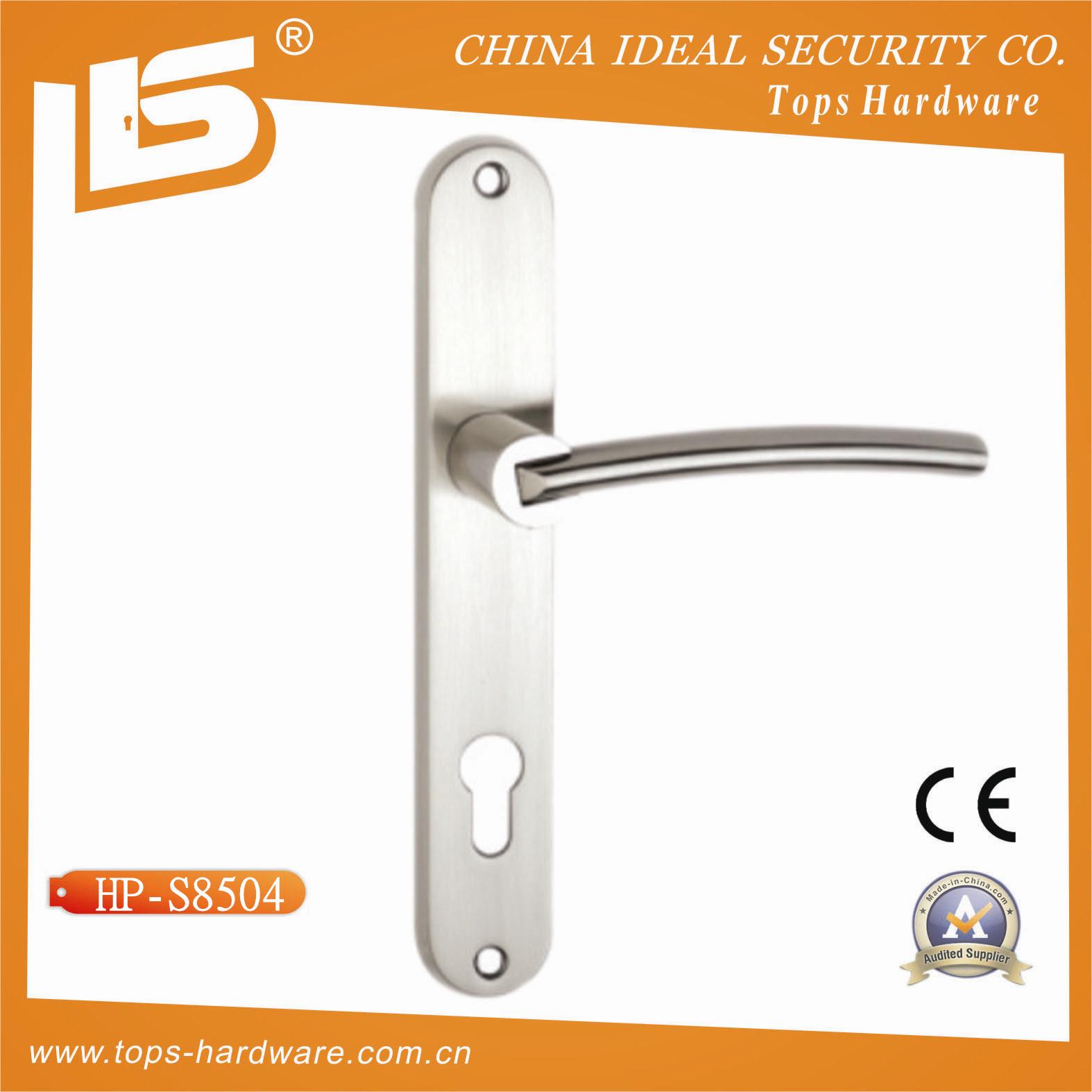 Zink. Stainless Steel Door Handle (HP-S8504)  sc 1 st  Wenzhou Tops Hardware Co. Ltd. & China Aluminium. Zink. Stainless Steel Door Handle (HP-S8504) Photos ...
