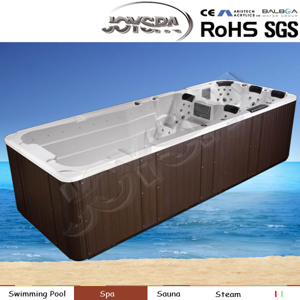 China Fashion 6 Meter Outdoor Swim Spa Made Of Acrylic