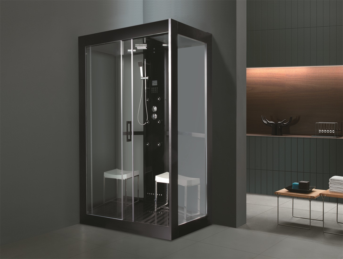 China Bathroom / Modern and Economical Steam Room with Radio ...