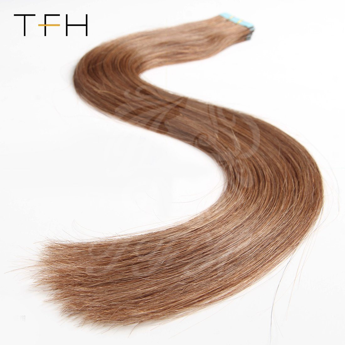 China 1618202224inch Double Drawn Tape Human Hair Extension 6
