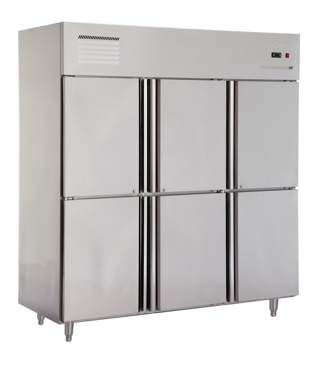 Ce Approved Vertical Stainless Steel Commercial Freezer pictures & photos