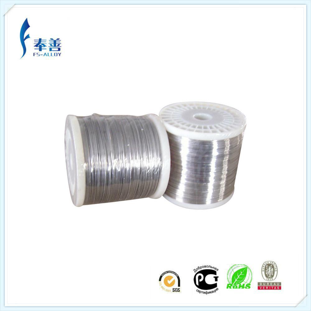 China Nichrome Wire Resistance Alloy Cr20ni80 Wire for Brake ...