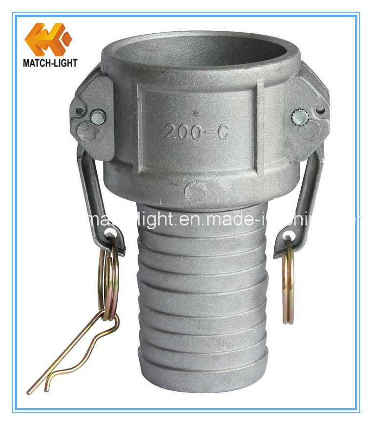 Coupler Type C Camlock Quick Coupling with Grooved Hose-Shank