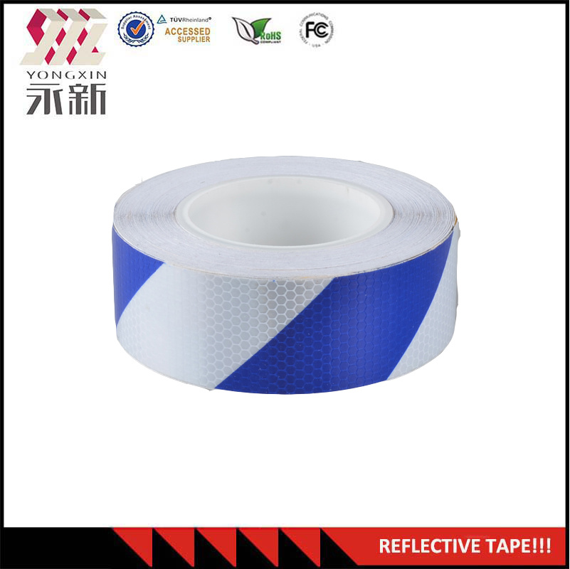 Durable Reflective Safety Warning Car Tape Film Sticker Conspicuity Roll Tape