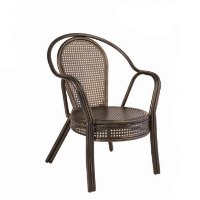 China Uv Resistant Antique Arm Wrought Iron Chairs For Sale Metal