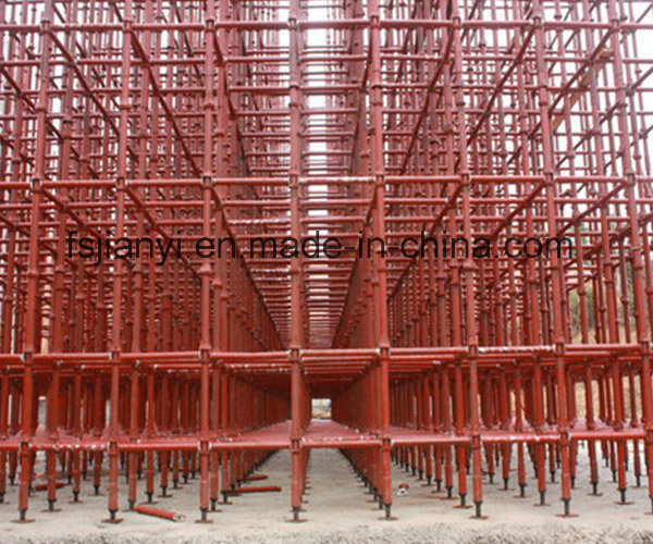 Q235 Steel Cuplock Scaffolding for Concrete Slab pictures & photos