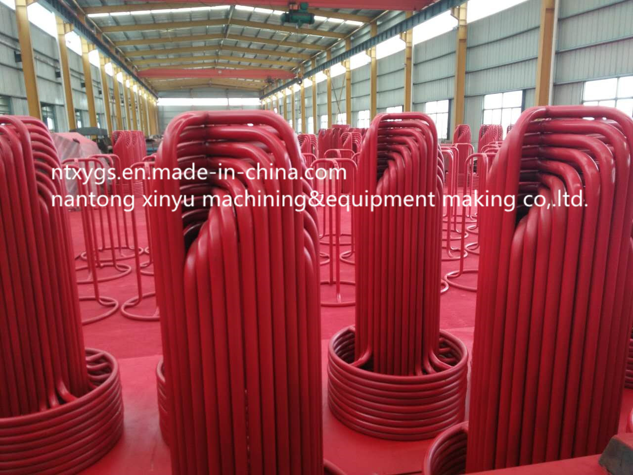 Factory Outlet Red Round Base Carrier for Wire Rod