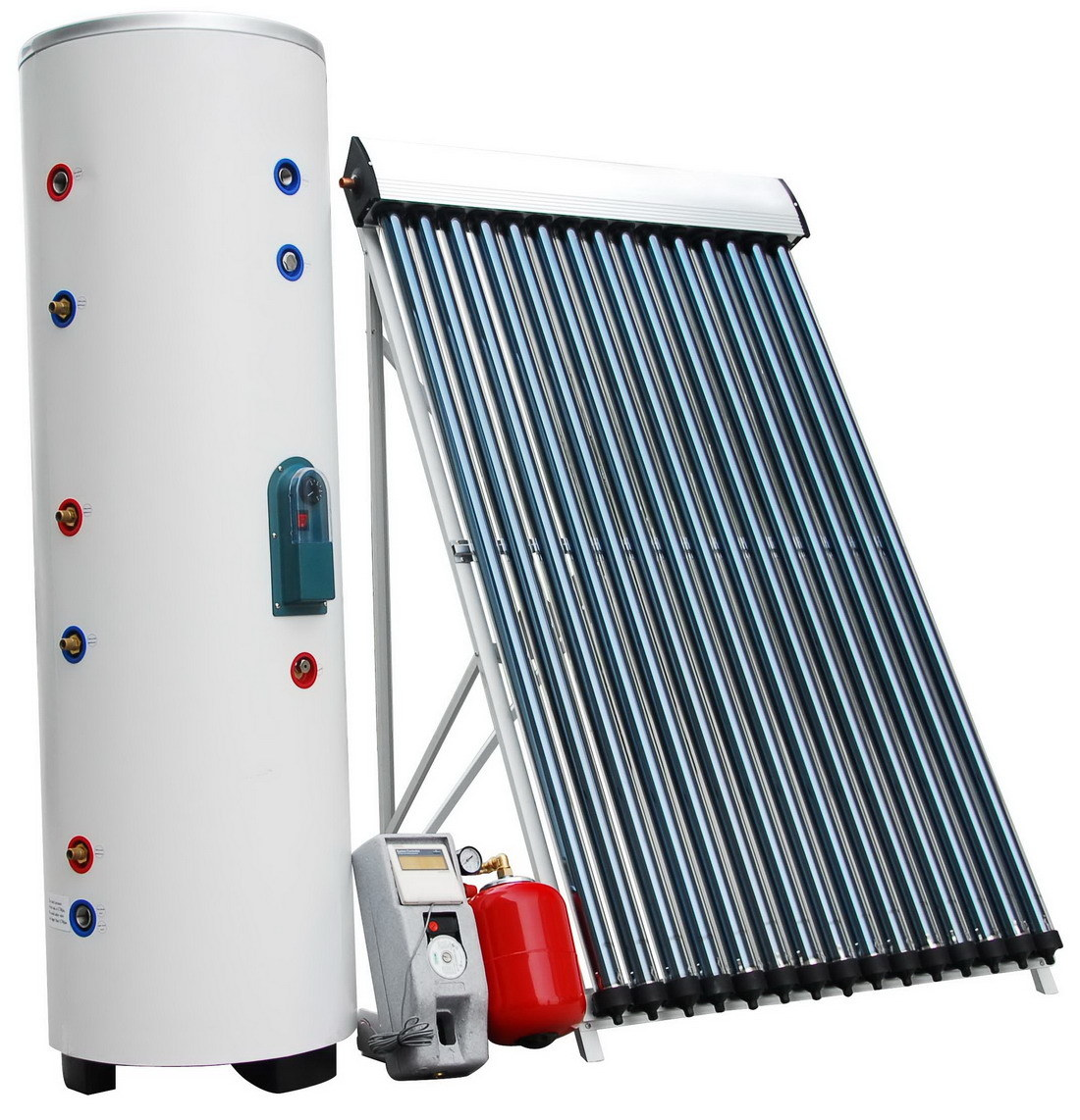 China High Pressure Solar Water Heater With Heat Pipe