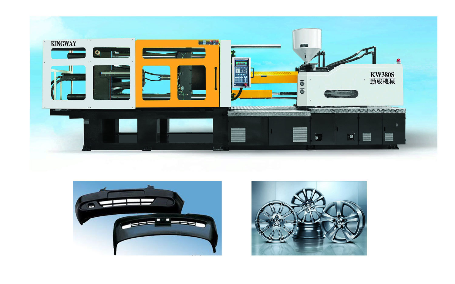 Servo Energy Saving Injection Molding Machine for Auto Parts