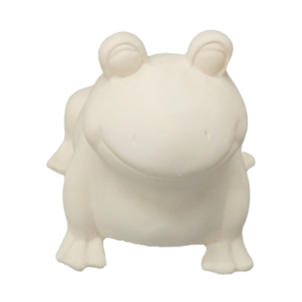 S Gift Diy Ceramic Frog Shape Bisque