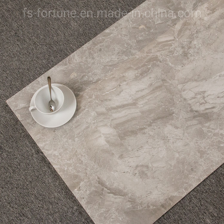 600X1200 Grey Stone-Like Wear Resistant Living Room Polished Glazed Floor Tile pictures & photos