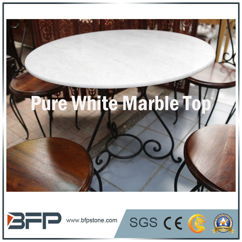 Wholesale Natural Marble Coffee Top for Coffee Shop/Home/Hotel pictures & photos