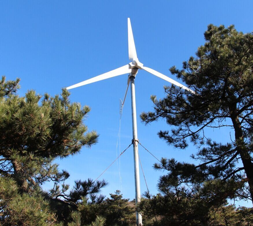 on Grid Whole Unit 12V 24V 48V 2kw 3kw 5kw 10kw Wind Turbine Also Called  Residential Wind Power Generator