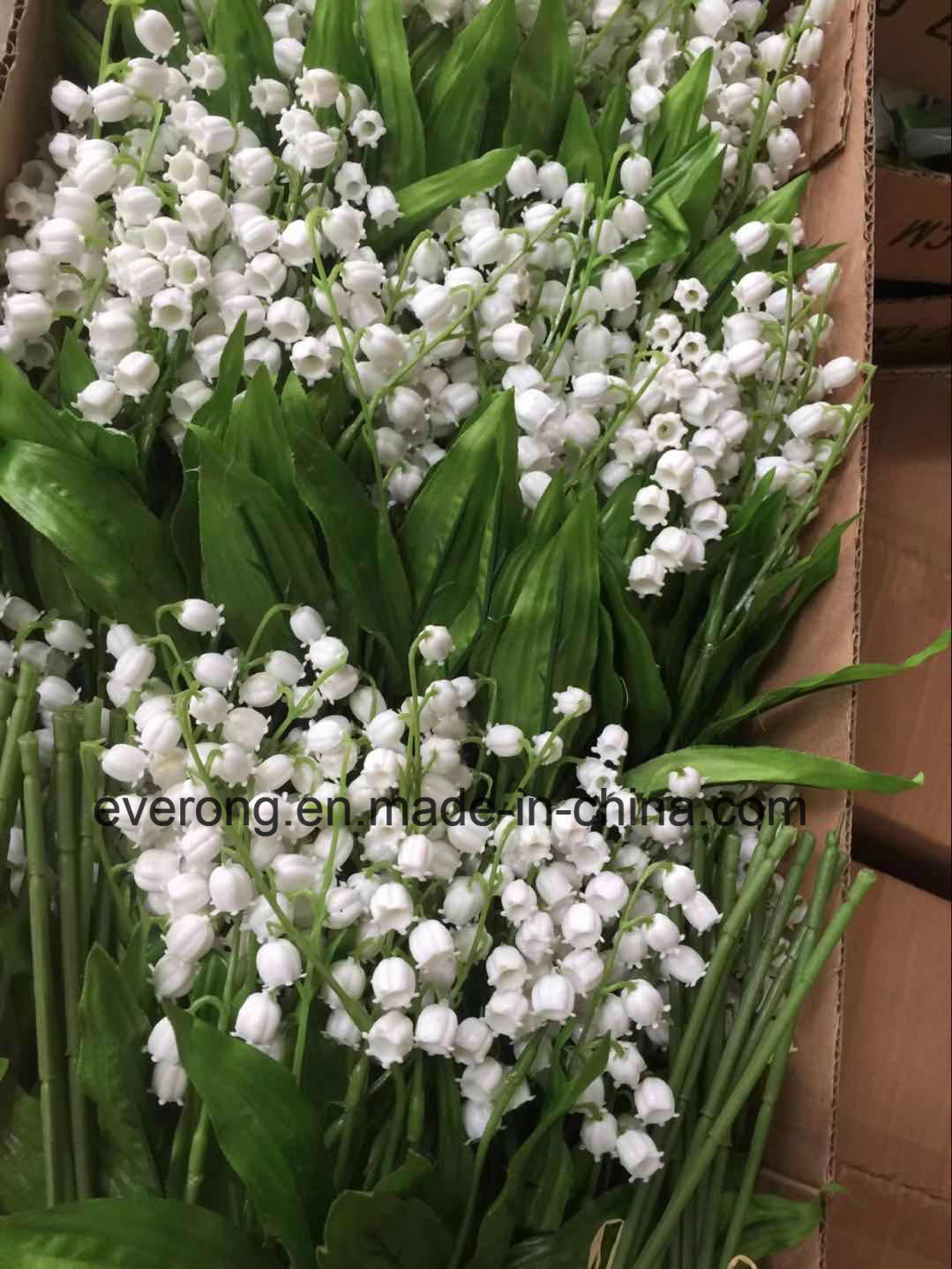 China Artificial Silk Flowers Simulation Valley Lily Convallaria