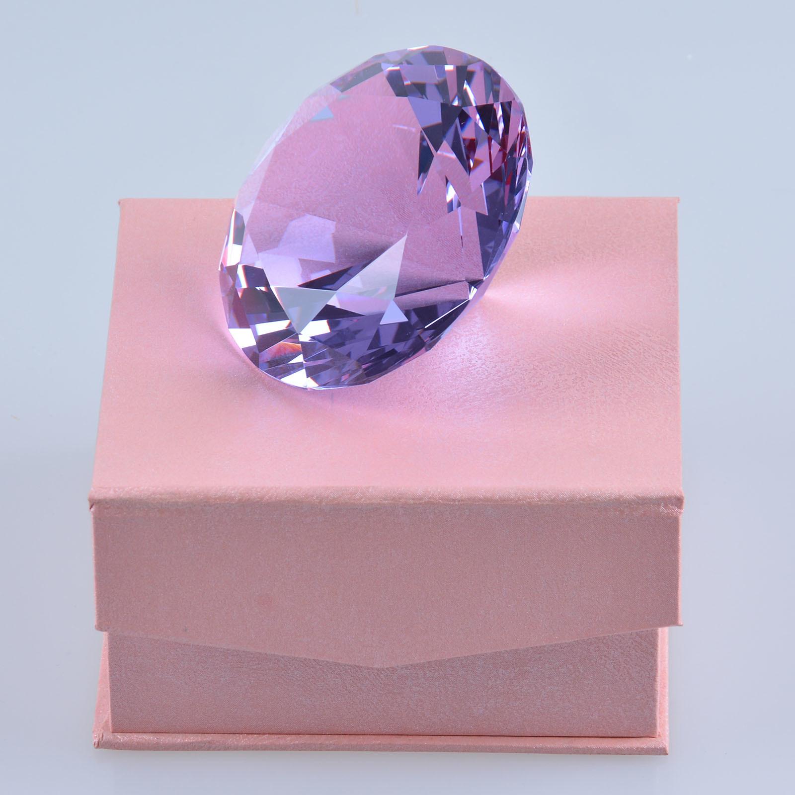 China Machine Made Wedding Favors Gift Crystal Glass Diamond - China ...