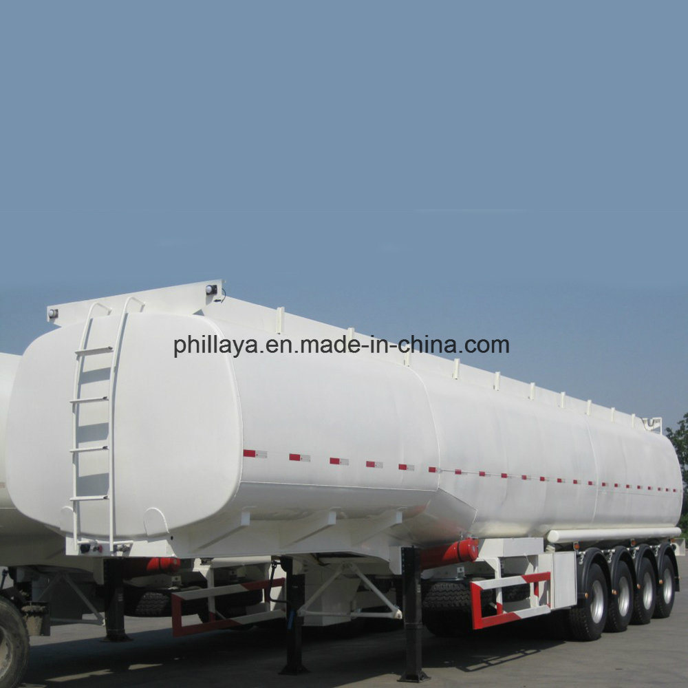 Four Axles Air Suspension Fuel Tank Trailer pictures & photos