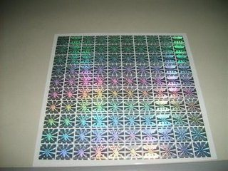 Security Seal China Gold 3d Sticker Sticker 2d Adhesive - Holographic