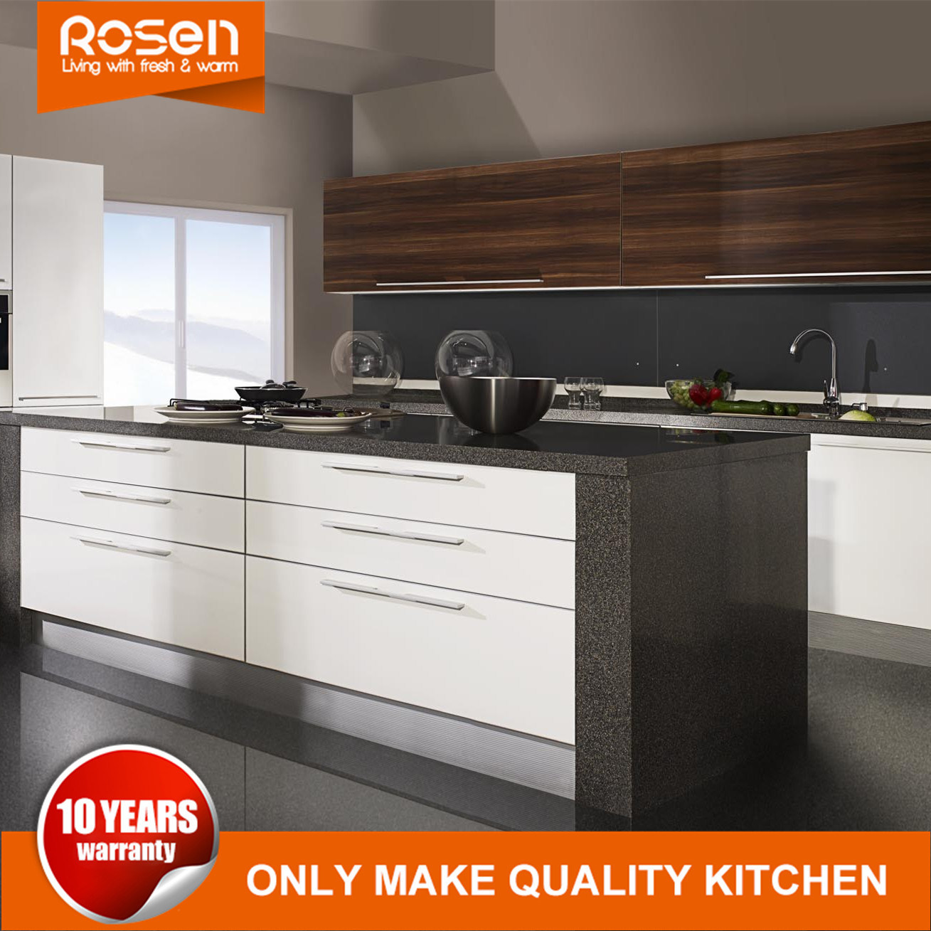 China Customized New Style Stainless Steel Kitchen Cabinets