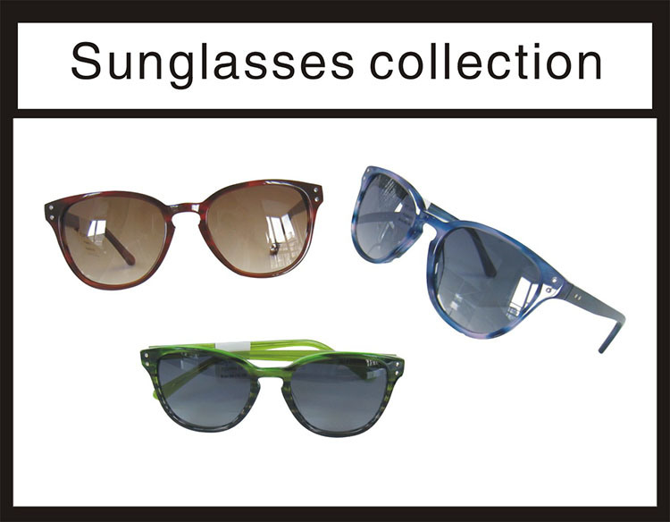 Acetate and Top New Good Quality Lady Sunglasses