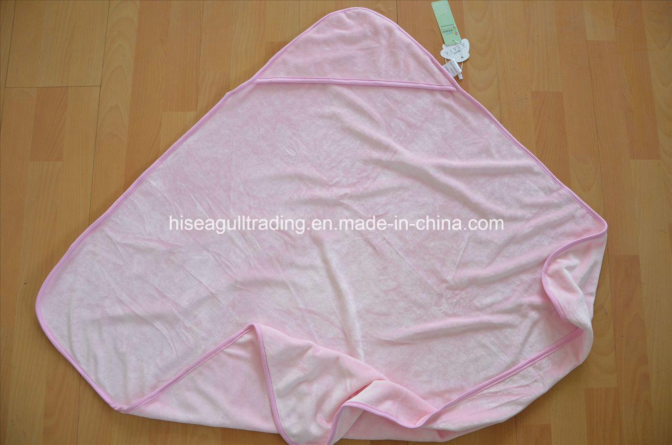 Super Quality, Baby Hooded Bath Towel Made of 70%Bamboo 30%Cotton Velour pictures & photos
