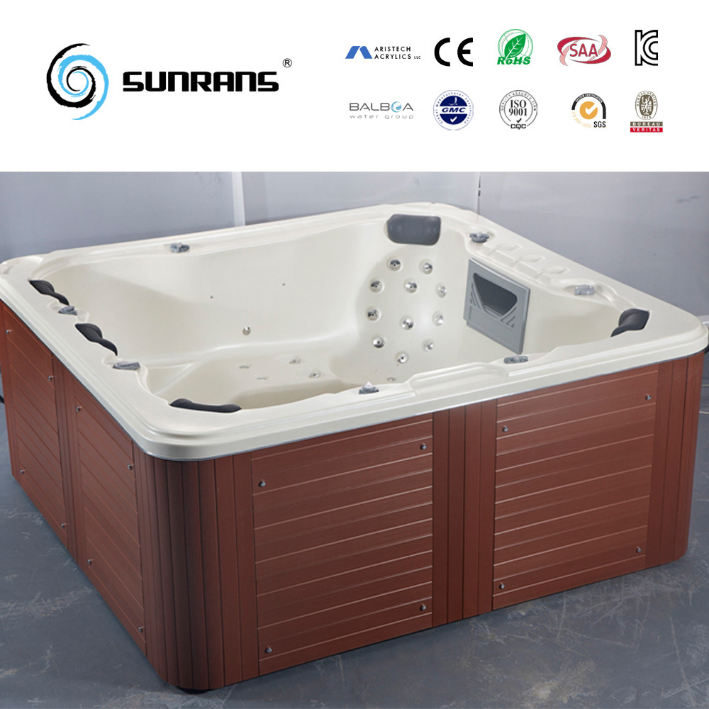 China Best Design Outdoor Acrylic Bathtub for 5 Person of a Family ...