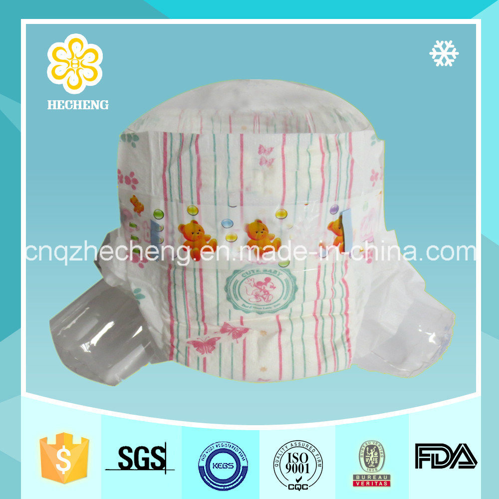 Baby Diaper with High Absorb Good Baby Product