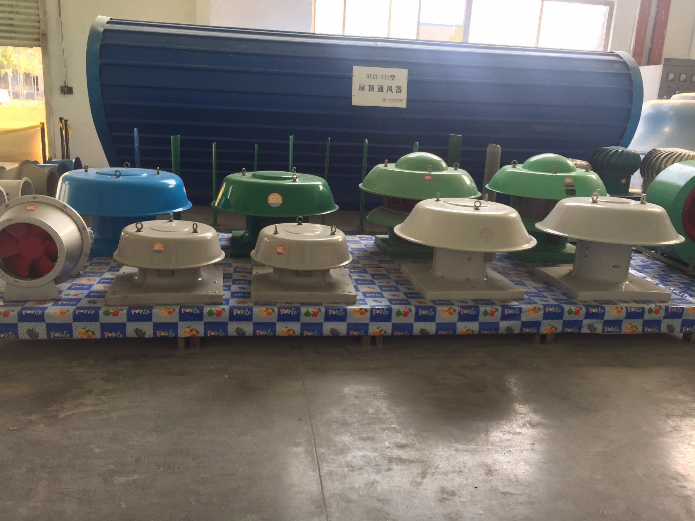 China Frp Industrial Roof Ventilation Fan Roof Exhaust Fan Photos Pictures Made In China Com