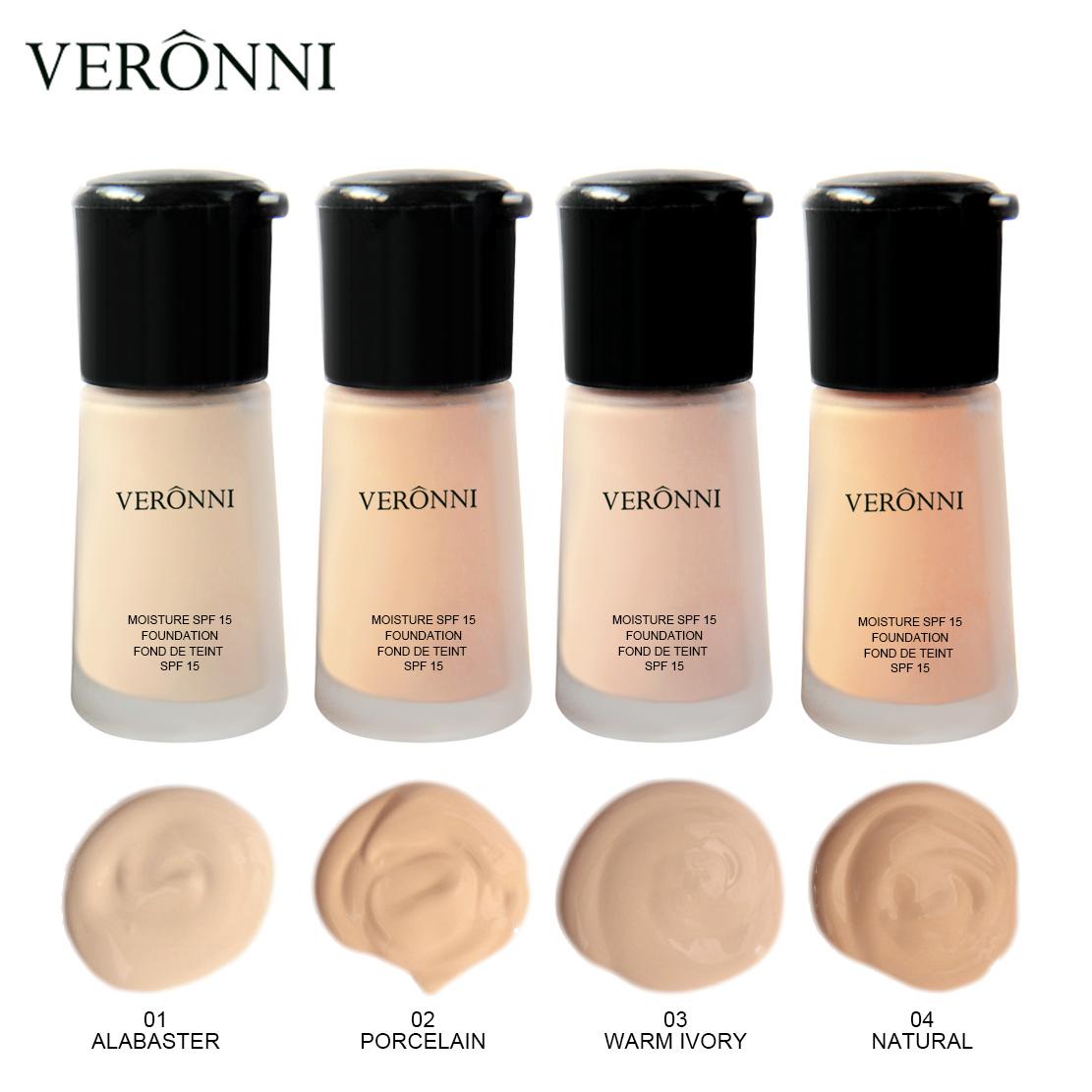 China Veronni 4 Colors Foundation Waterproof Base Makeup China Foundation Makeup Liquid And Makeup Foundation Price