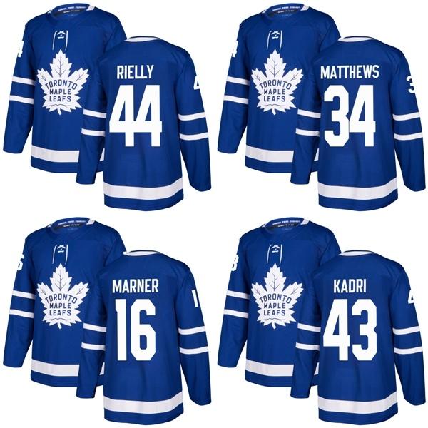 new style 94438 aedcf [Hot Item] Maple Leafs Auston Matthews Mitch Marner Morgan Rielly Hockey  Jerseys