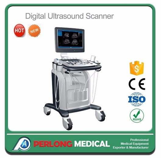 China PT6102 Advanced Digital Mobile Ultrasound System with LCD