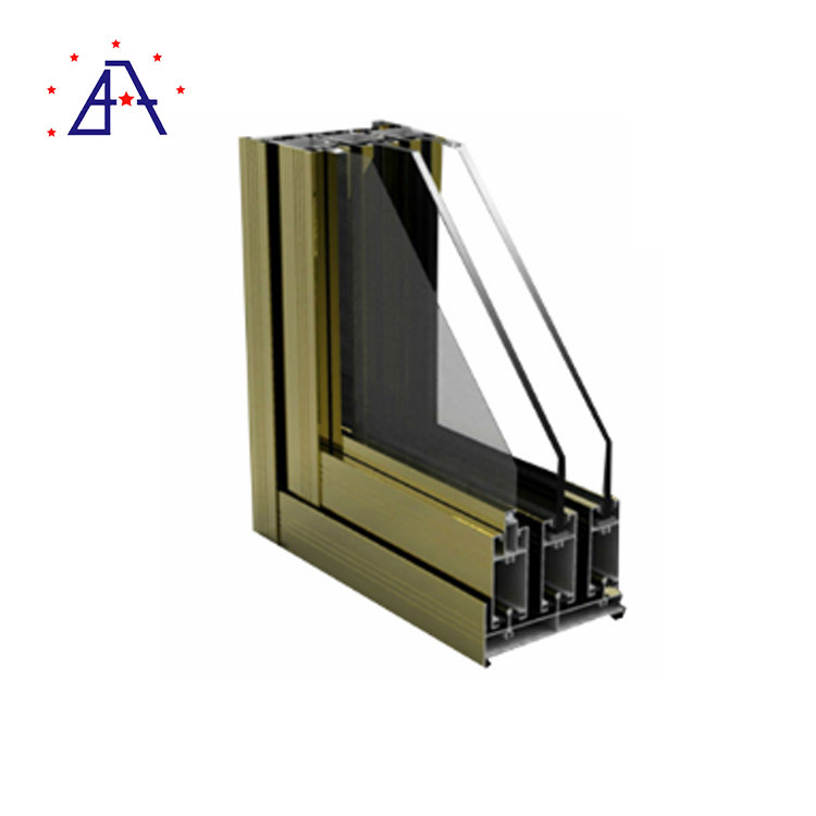 China Customized Bronze Anodized Aluminum Windows Supplier - China ...