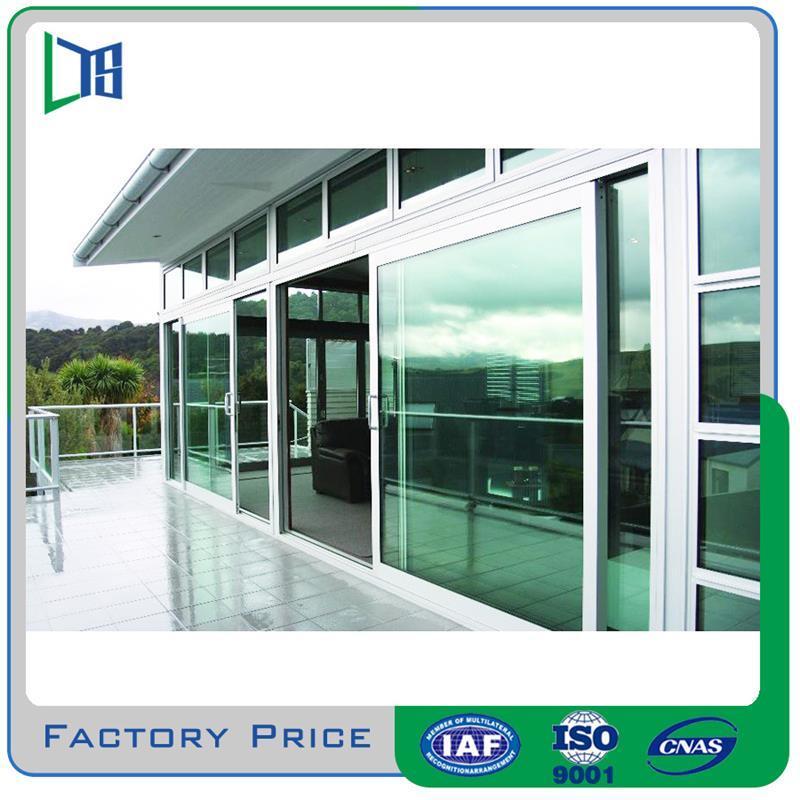 Frameless Sliding Exterior Gl Door Balcony