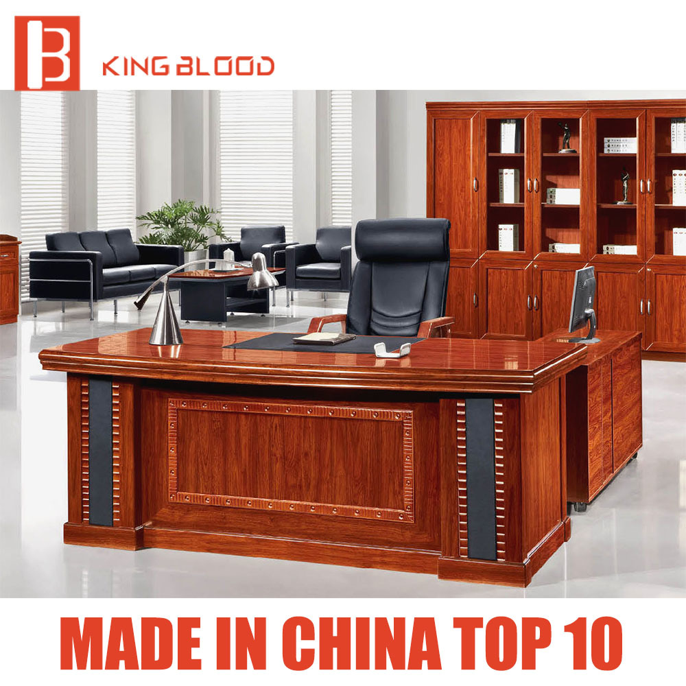 [Hot Item] Professional Design Wooden Modern Office Furniture Executive Desk