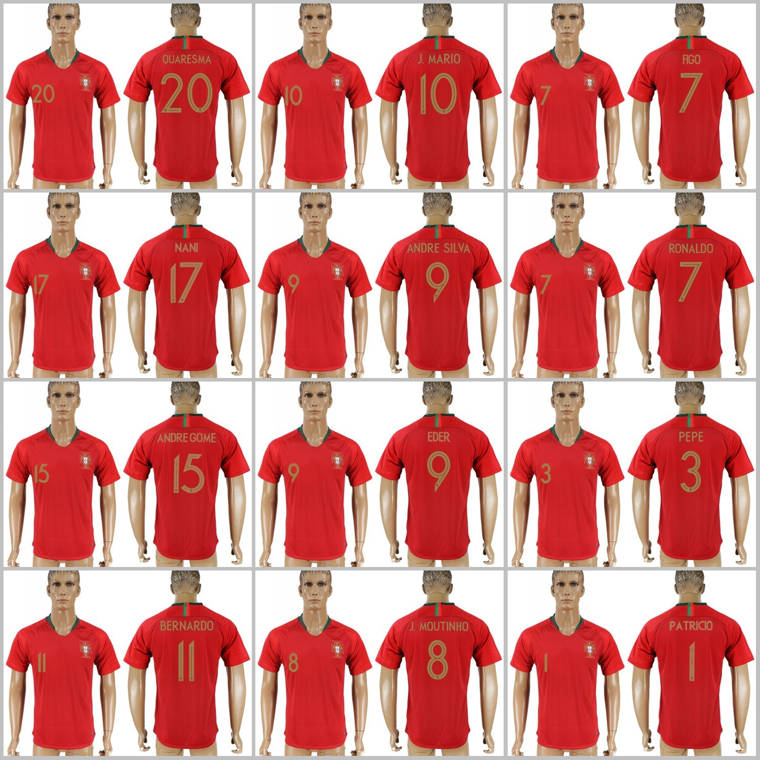 info for b8e9a f53b5 [Hot Item] 2018 World Cup Football Portugal National Soccer Jersey