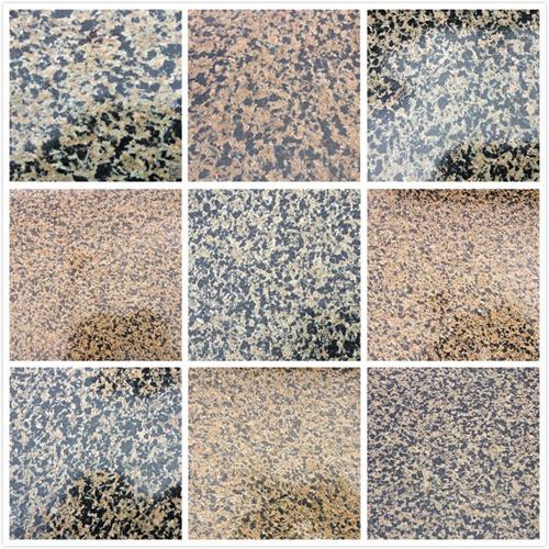 China New Popular Chocolate Brown Floor Tile Granite Brick China