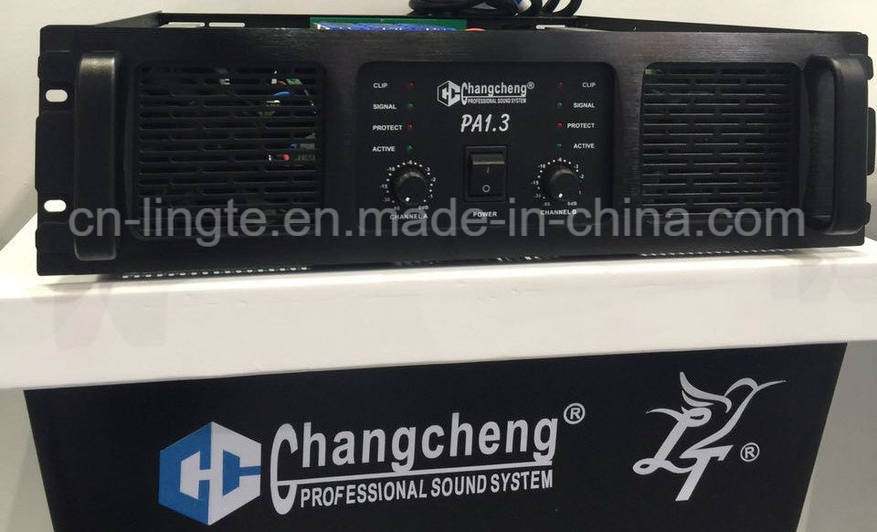 PA Series PA1.3 Class H Professional Power Amplifier pictures & photos