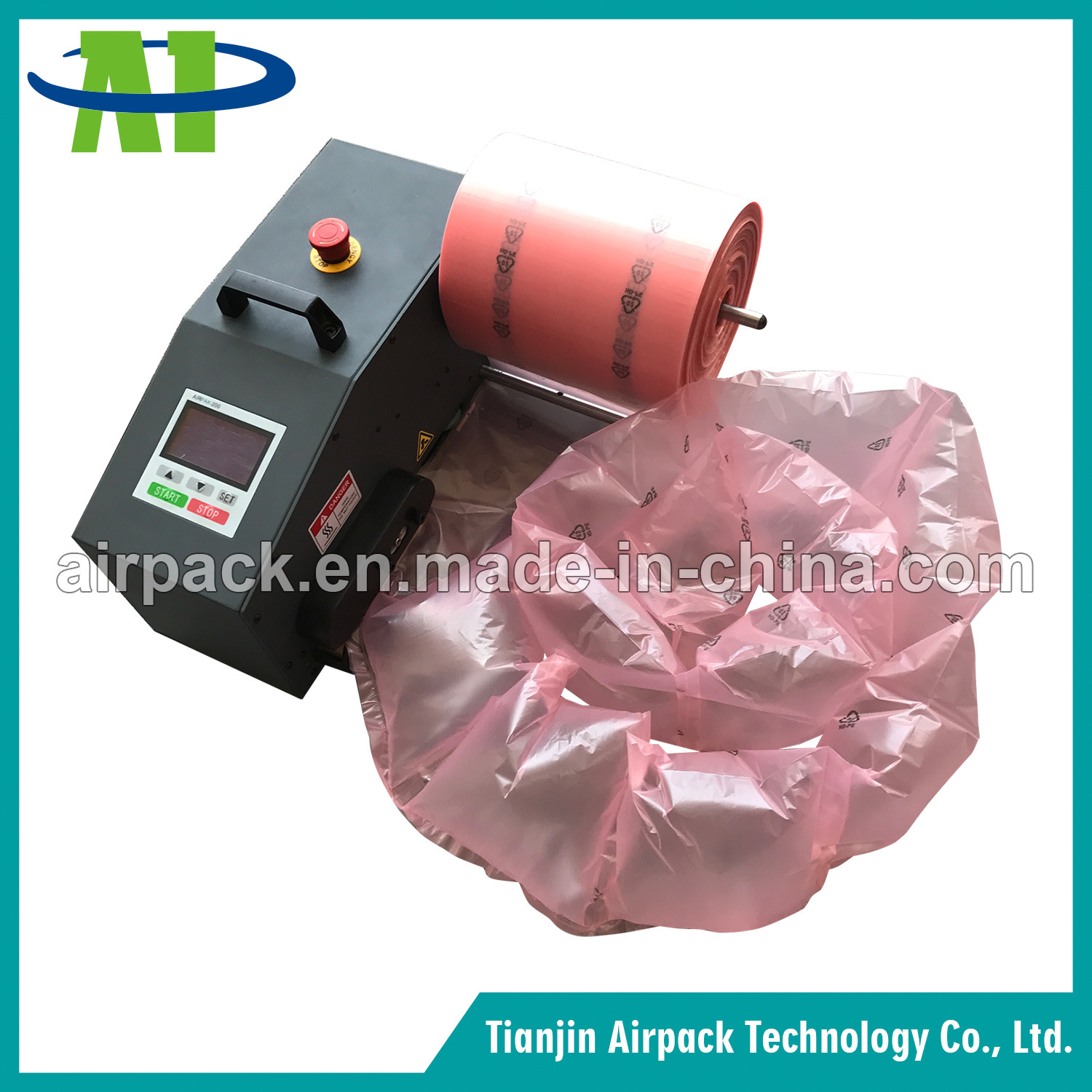 Protective Packaging Air Cushion Machine for Air Bag and Air Bubble