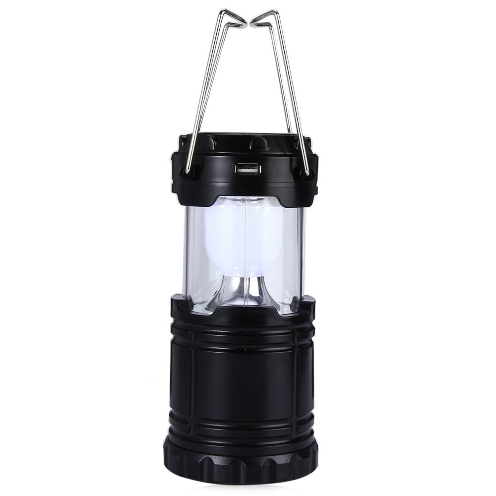 6 LED Portable Solar Camping Lantern for Outdoor Lighting