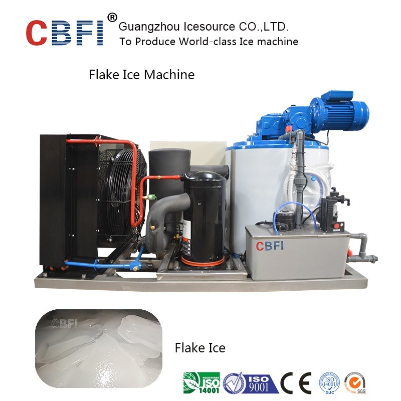 Guangzhou 1ton to 60tons High Quality Flake Ice Machine for Fishery Cooling pictures & photos