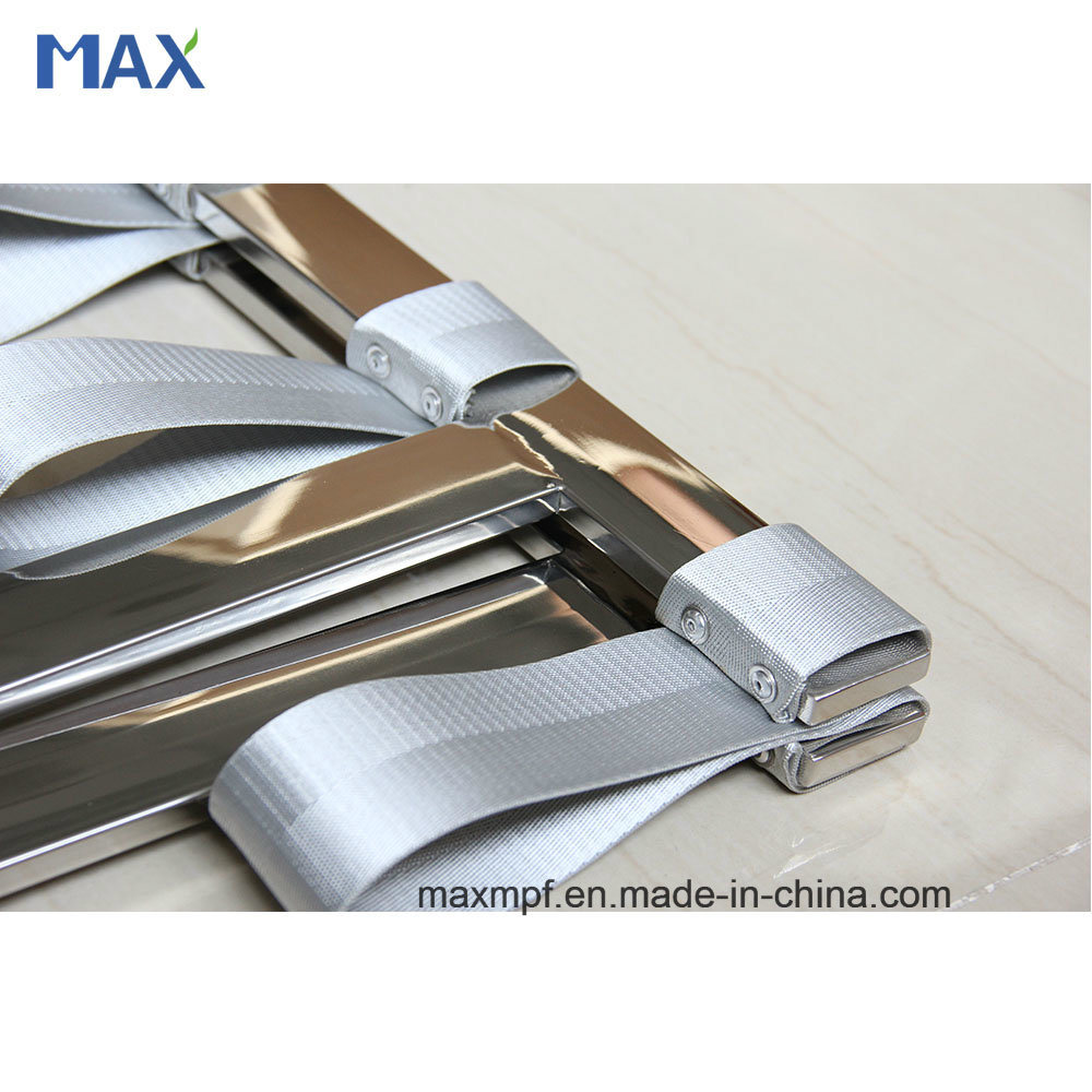 Customization Stainless Steel Folding Flat Tube Luggage Rack for Hotel pictures & photos