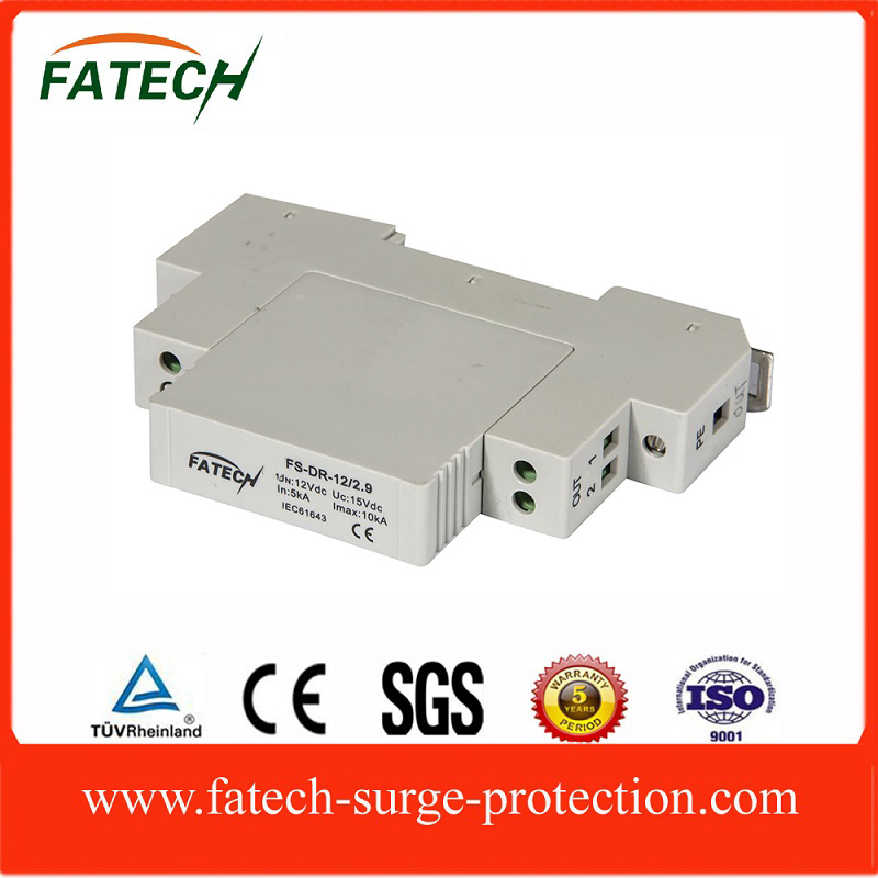 4~20mA Circuit, RS485 Circuit Lightning Surge Arrester DIN Rail