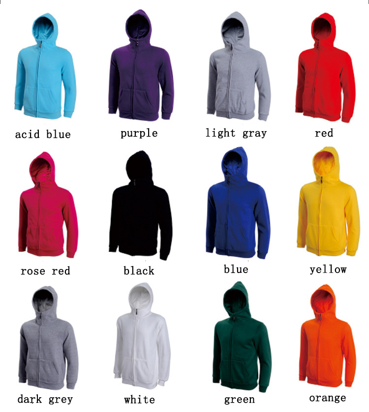 Sweater Zipper up Hoodies with Cashmere pictures & photos