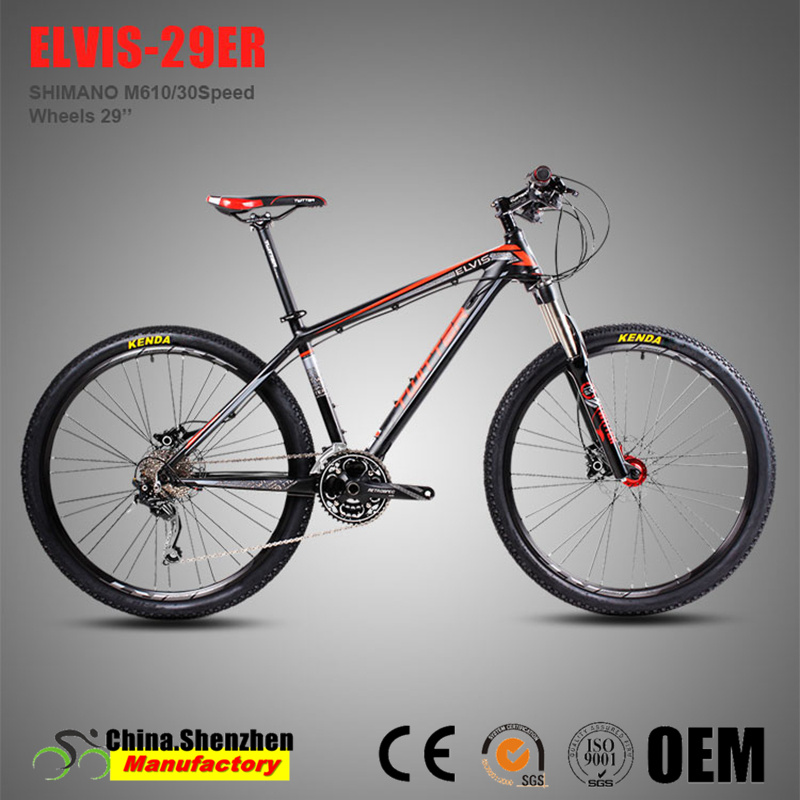 Cheap Deore M610-30speed Aluminum Alloy Mountain Bike 29er pictures & photos