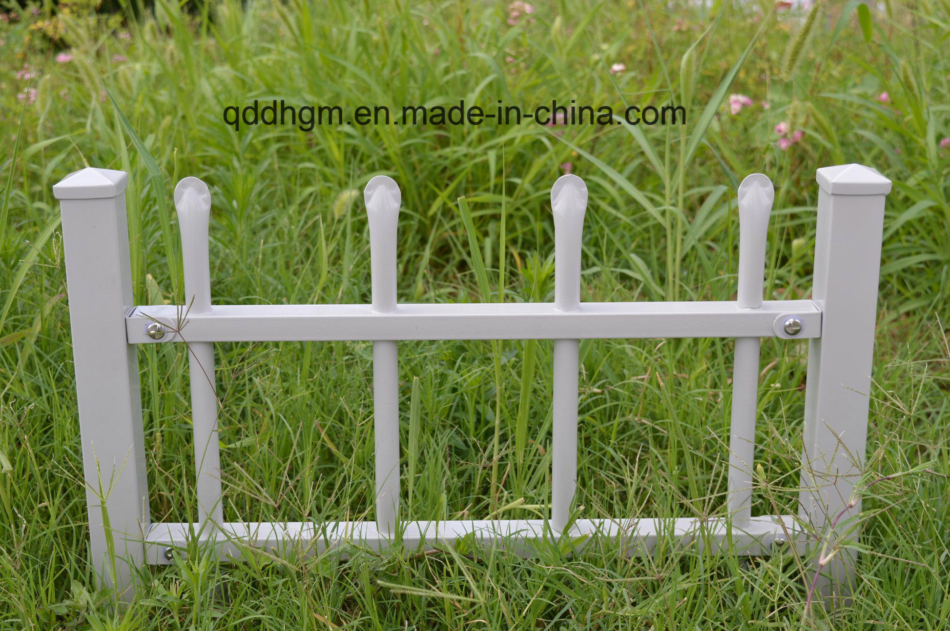 China Decoration Wrought Iron Small Garden Fence China Fence