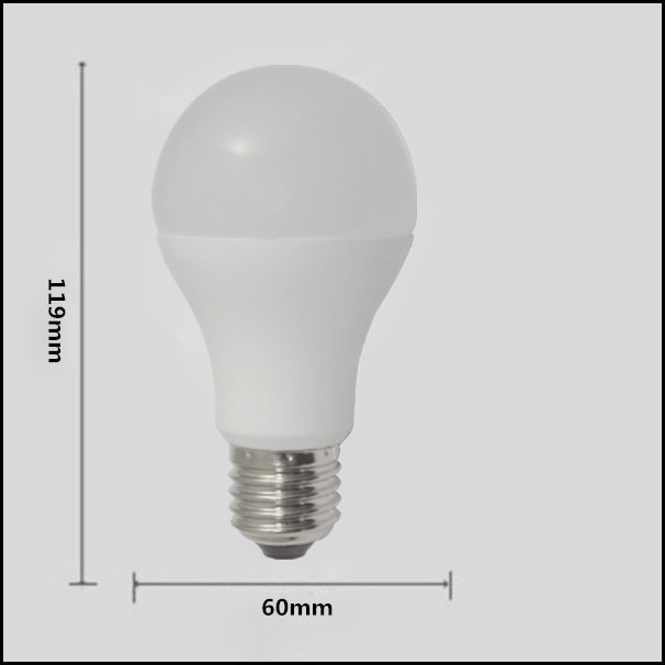 5W 7W 10W 12W 15W 85-265V LED Light Bulb