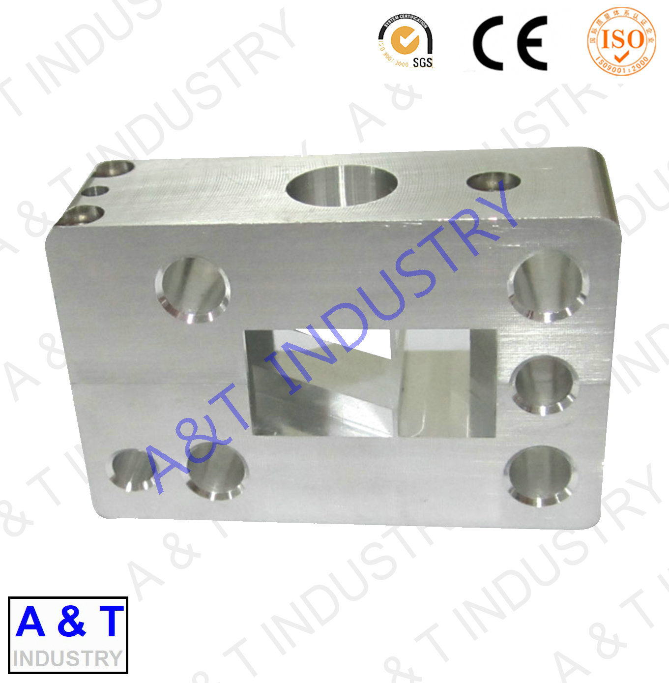 Textile Machinery Parts Aluminum Forged Sewing Part with High Quality pictures & photos