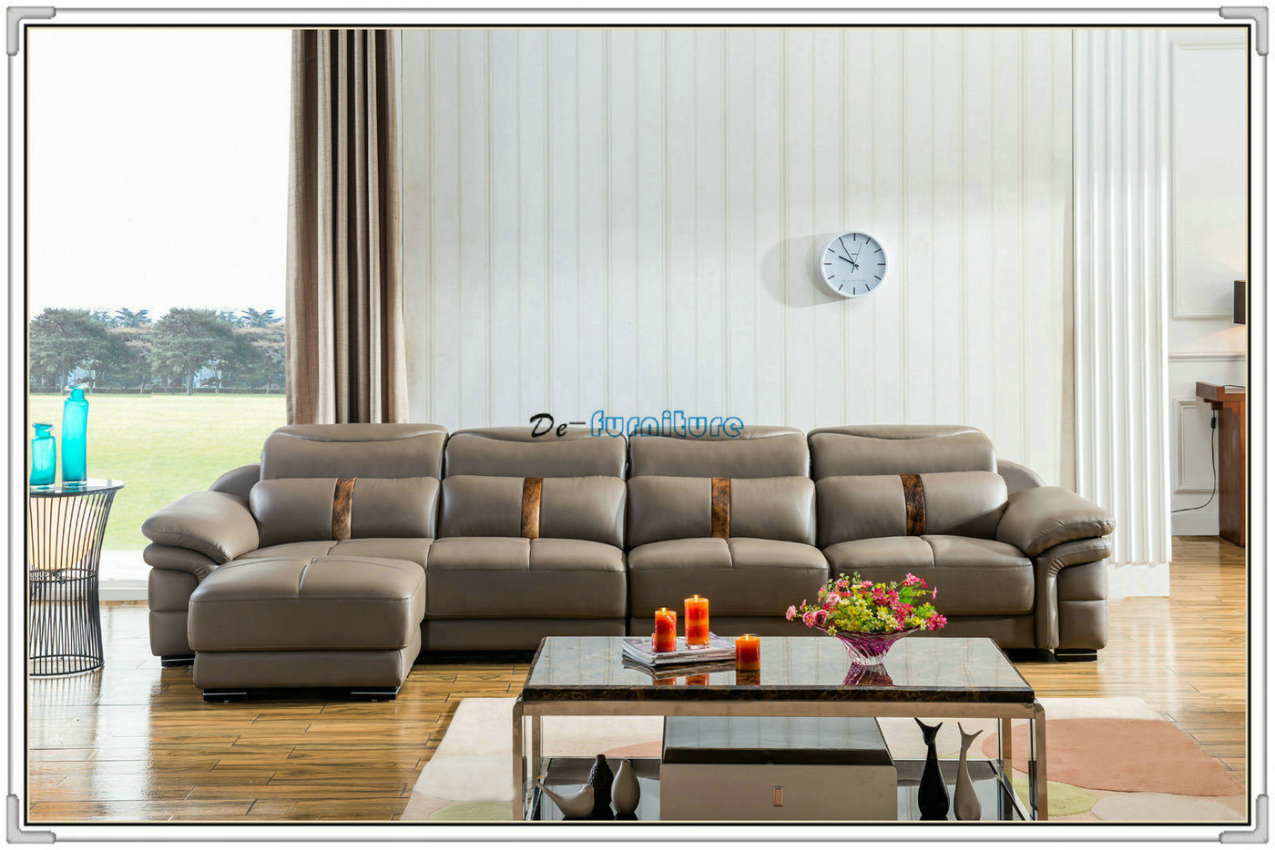 China Living Room Sofa, Leather Sofa, Section Sofa (M221) Photos ...